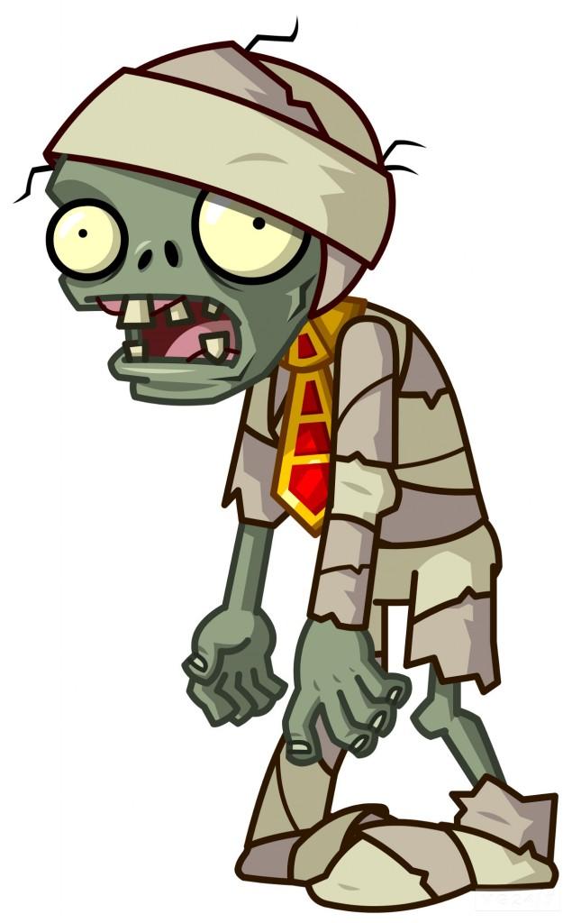 zombie typique du jeu Plants vs Zombies