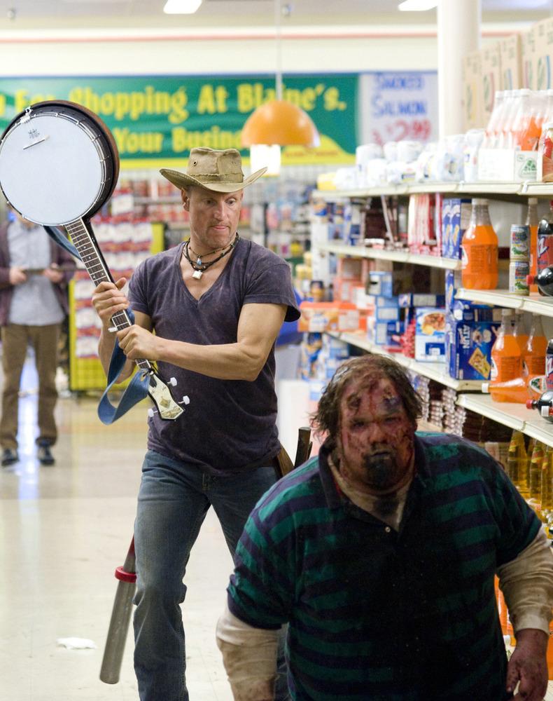 woody harrelson dans Bienvenue à Zombieland