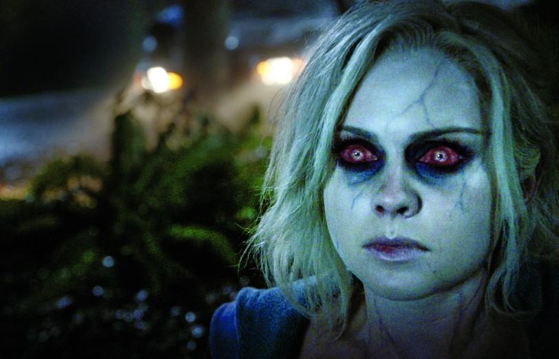 Rose McIver en mode zombie dans la série iZombie