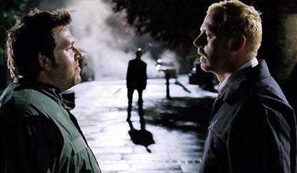 Simon Pegg et Nick Frost dans Shaun of the Dead