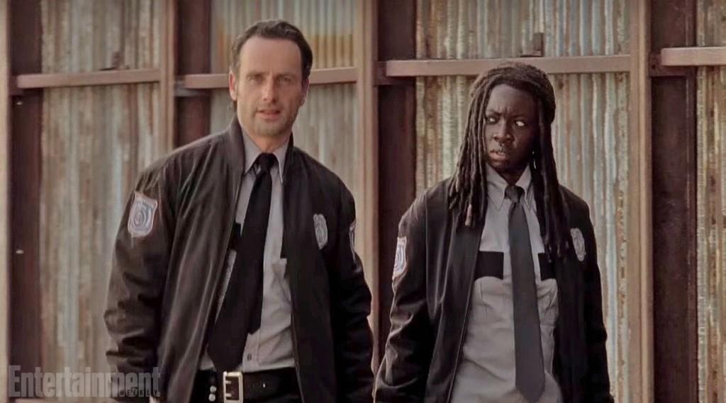 Michonne et Rick dans la saison 6