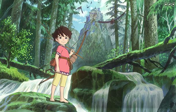 Ronya, fille de brigand, série animée de Goro Miyazaki, bientôt disponible sur Amazon Prime