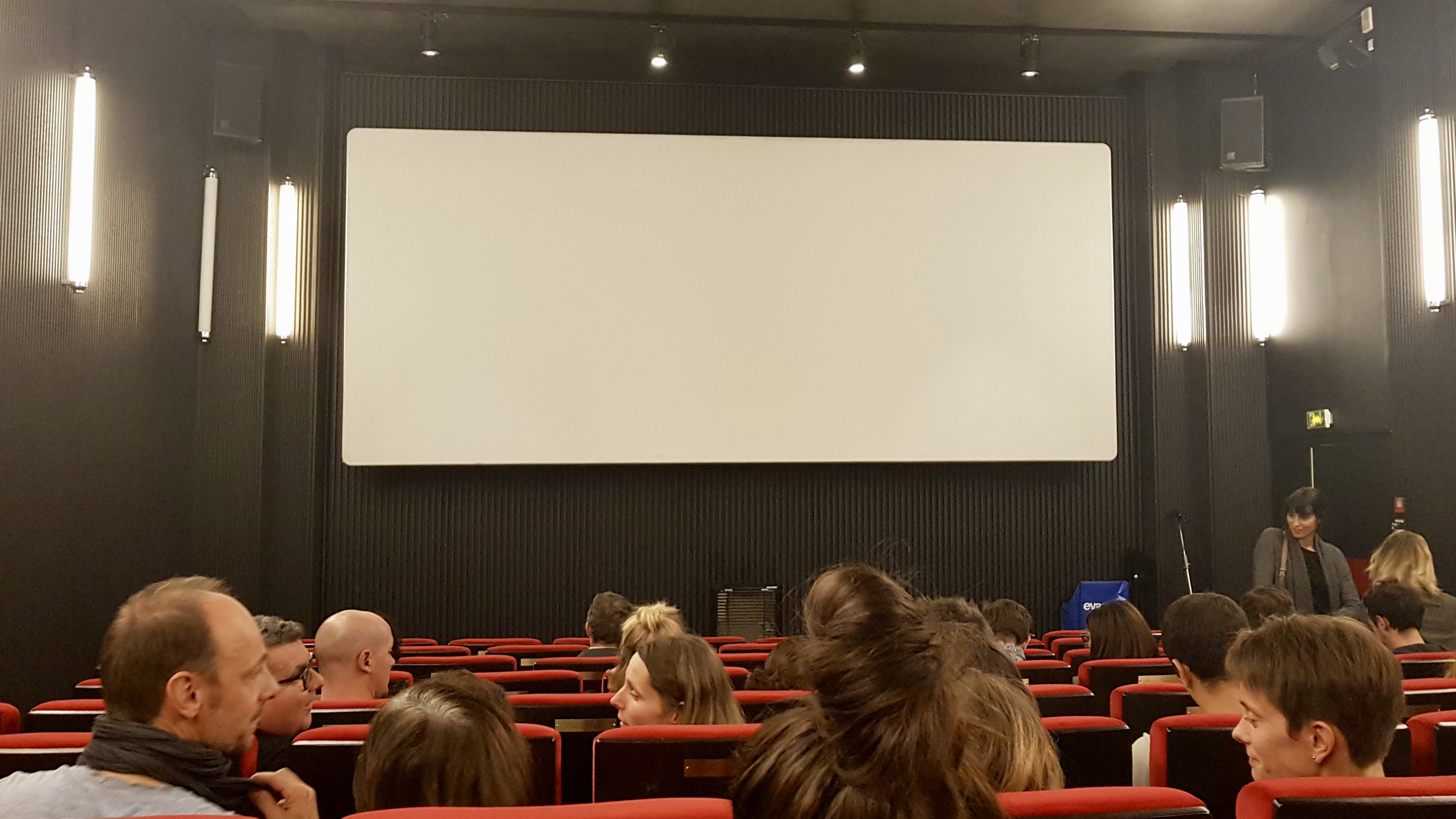 Salle projection cinema Centre Wallonie-Bruxelles Paris