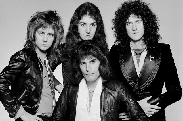 Queen le groupe photo