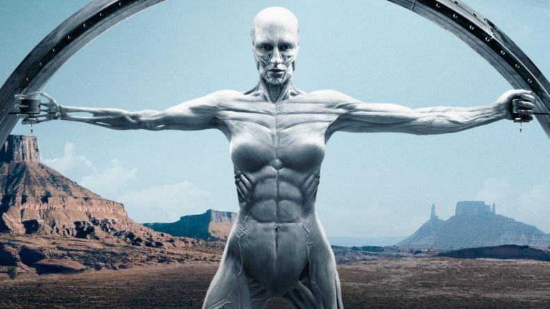 Westworld statue serie