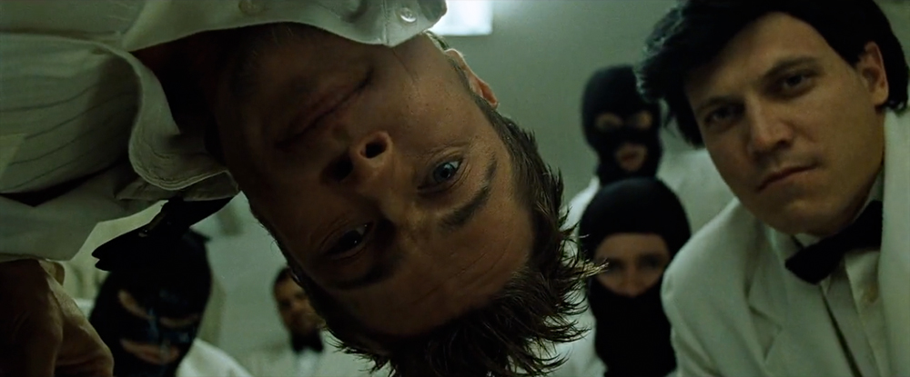 tyler durden tete en bas fight club david fincher