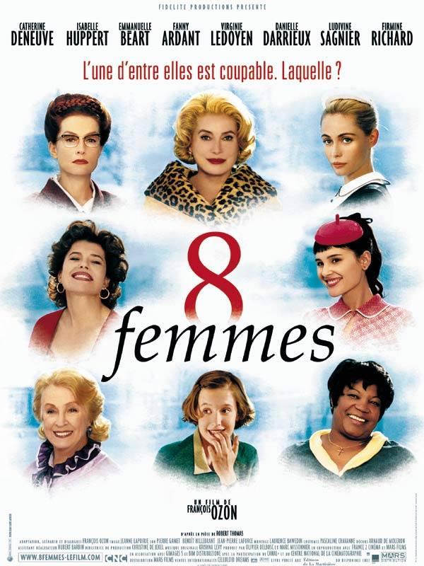 Ozon 8 Huit femmes poster affiche