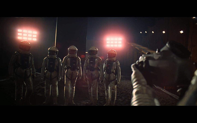 Space Odyssey Kubrick astronaut