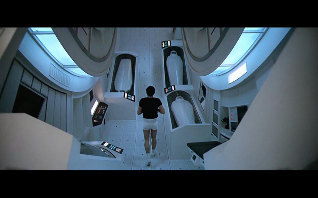 Space Odyssey Kubrick running run