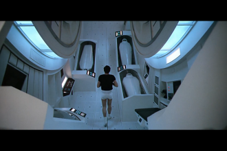 Space Odyssey Kubrick running run
