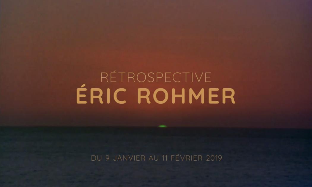 Bande Annonce Eric Rohmer Cinémathèque