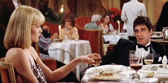 Tony Montana Elvira diner