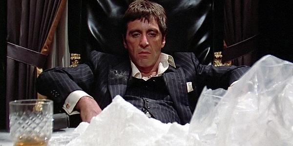 empereur Tony Montana cocaine